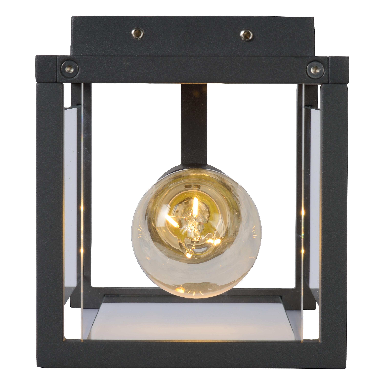 claire mini wandleuchte au en ip54 anthrazit. Black Bedroom Furniture Sets. Home Design Ideas