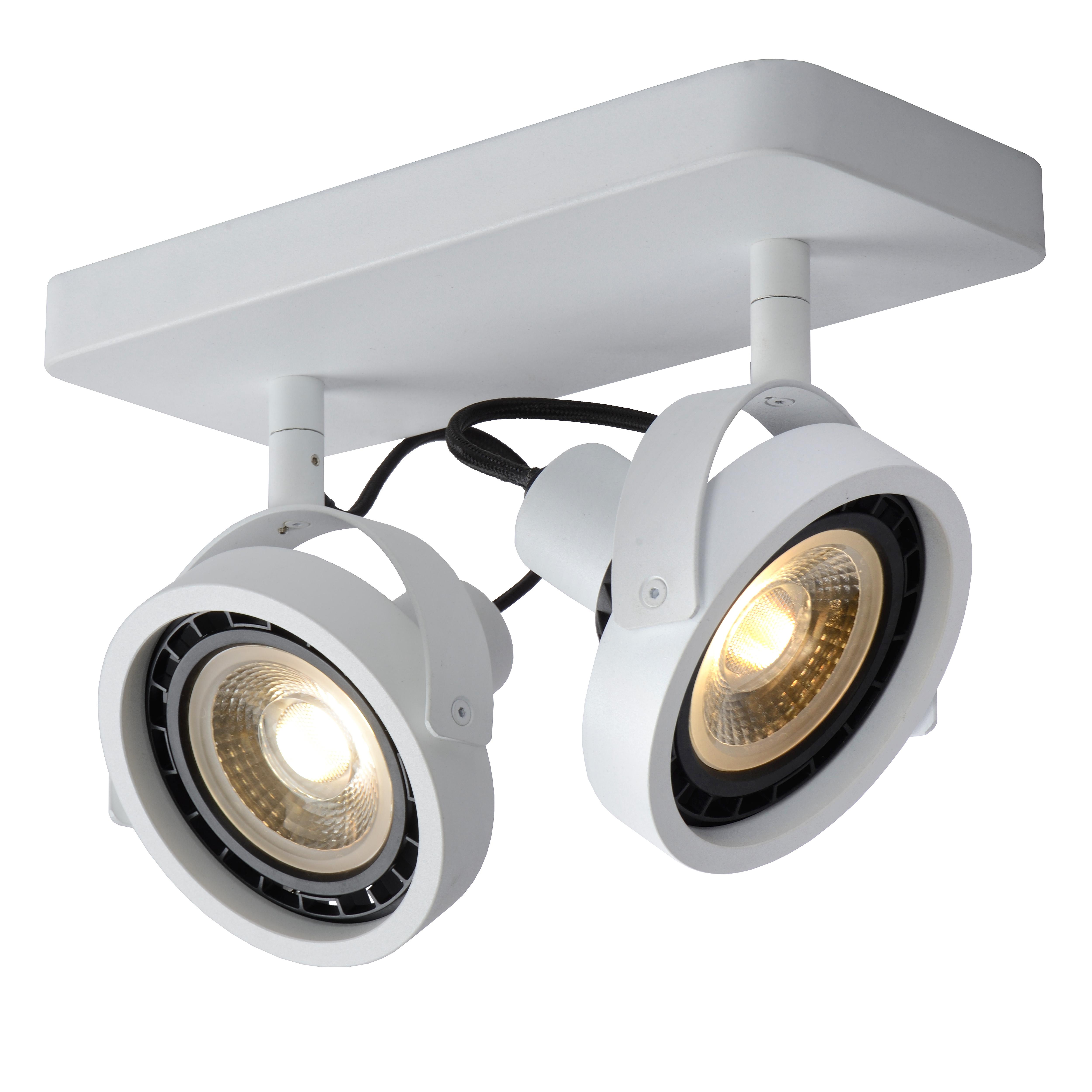 TALA LED   Deckenstrahler   LED Dim to warm   GU10   2x12W 2200K/3000K   Weiß