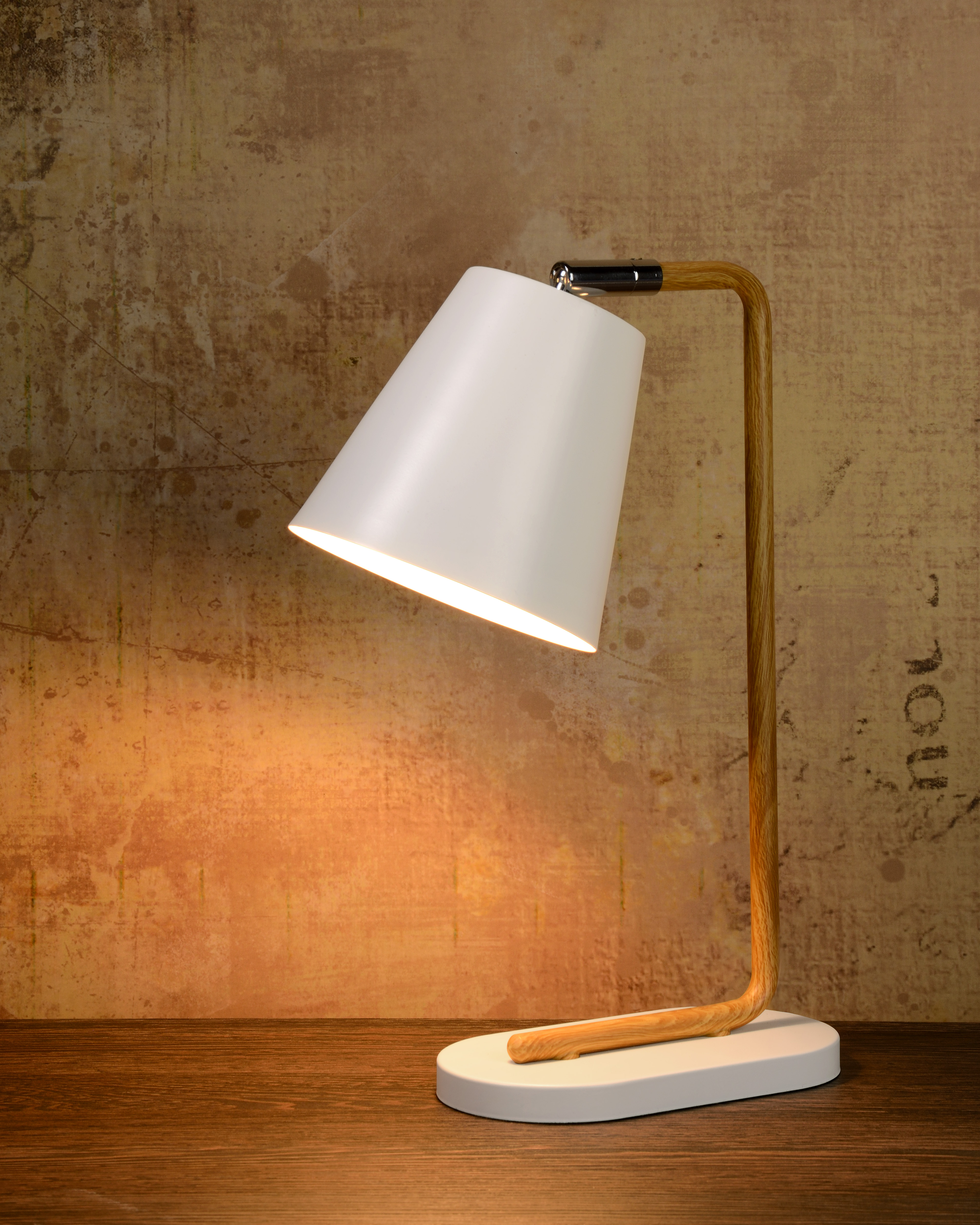 Cona Table Lamp 1xe14 White