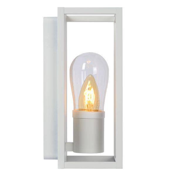 CARLYN - Wandleuchte Badezimmer - E14 - IP54 - Weiß