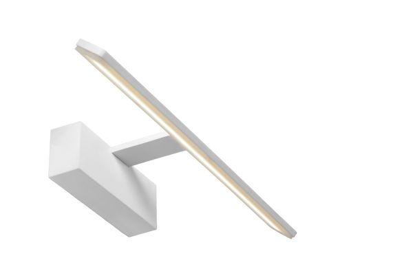 Spiegellamp Voor Badkamer : Bethan spiegellamp badkamer led 1x8w 3000k ip21 wit