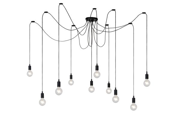 Fix Multiple Pendant Light E27 Black