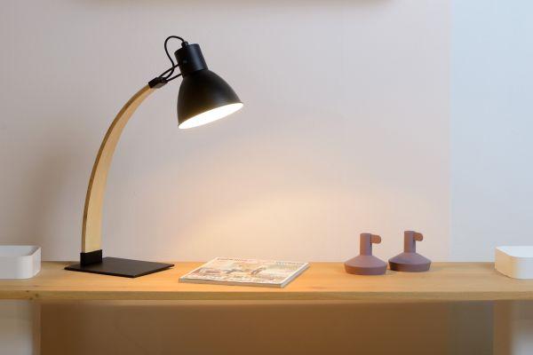 Curf lampe de bureau noir
